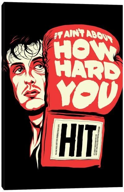 How Hard You Hit Canvas Print #BBY26