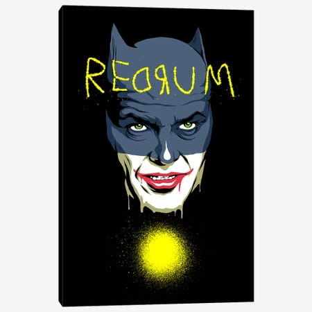 Redrum Canvas Print #BBY273} by Butcher Billy Canvas Wall Art
