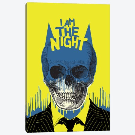 The Night Canvas Print #BBY277} by Butcher Billy Canvas Print