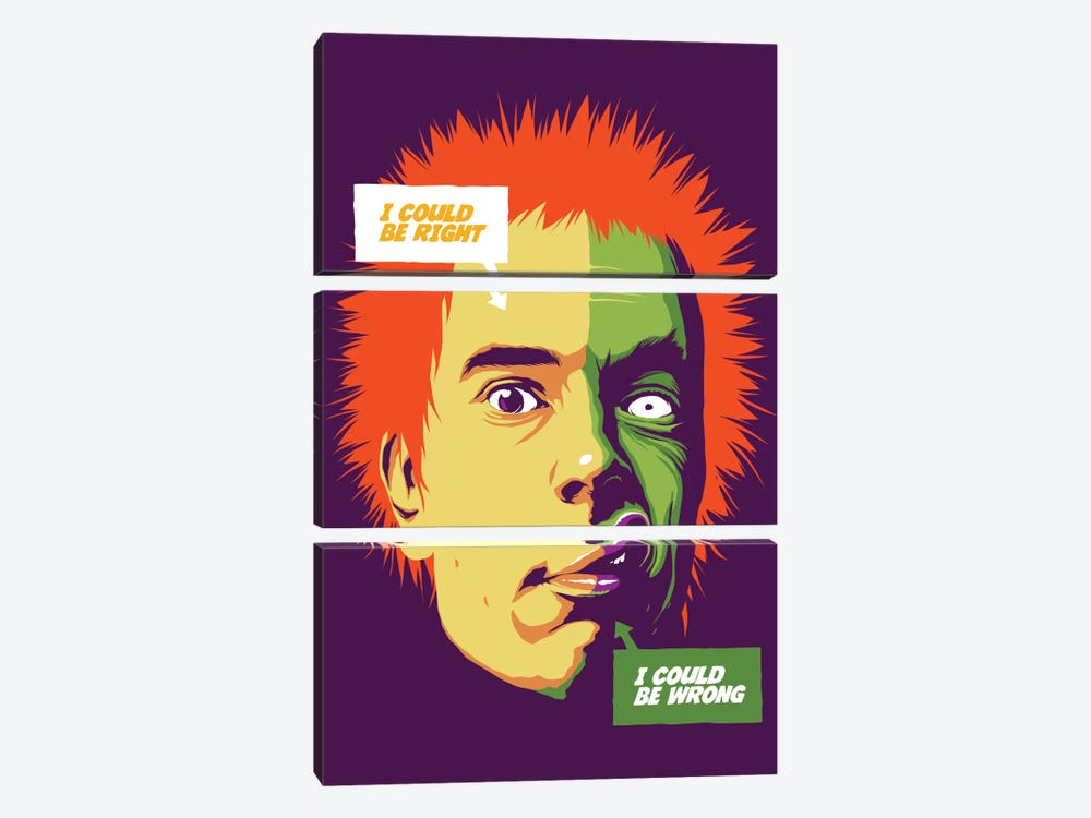 I Could Be Wrong #Rise by Butcher Billy 3-piece Canvas Wall Art