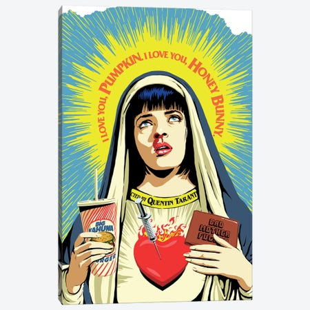 The Pulp Virgin Canvas Print #BBY281} by Butcher Billy Canvas Art Print