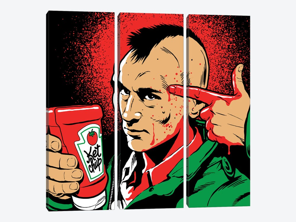 The Tomato Driver by Butcher Billy 3-piece Canvas Art
