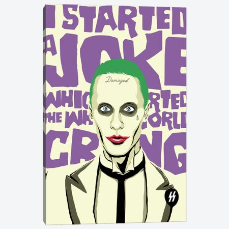 I Started a Joke Canvas Print #BBY28} by Butcher Billy Canvas Art Print