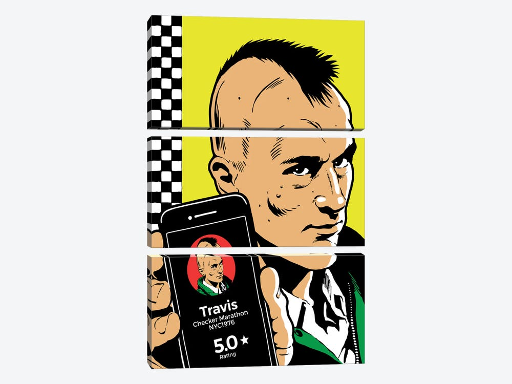 The Driver by Butcher Billy 3-piece Canvas Wall Art