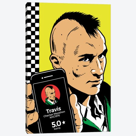 The Driver Canvas Print #BBY290} by Butcher Billy Canvas Artwork