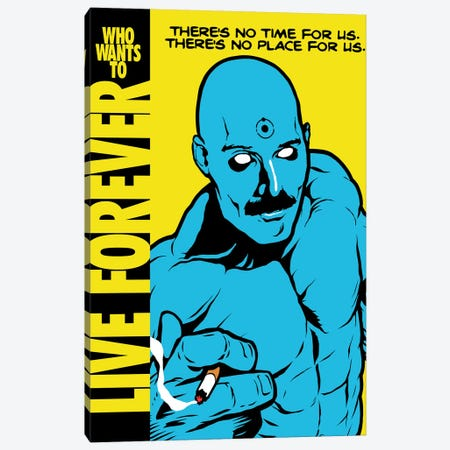 Live Forever Canvas Print #BBY293} by Butcher Billy Canvas Wall Art