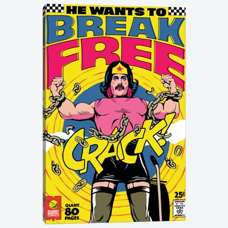 Breaking Free Canvas Print #BBY297} by Butcher Billy Canvas Print