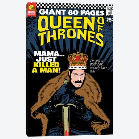The Throne Canvas Print #BBY298} by Butcher Billy Canvas Art