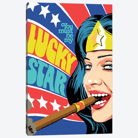 The Star Canvas Print #BBY301} by Butcher Billy Canvas Wall Art