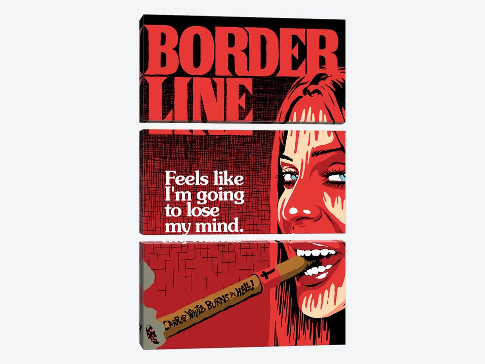 The Border by Butcher Billy 3-piece Canvas Art