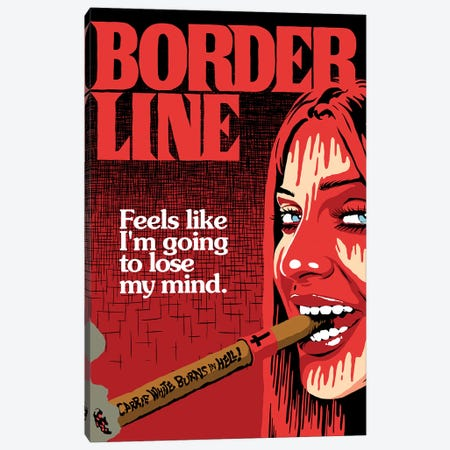 The Border Canvas Print #BBY304} by Butcher Billy Canvas Art Print