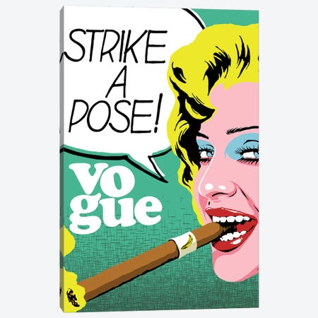 The Pose Canvas Print #BBY305} by Butcher Billy Canvas Print