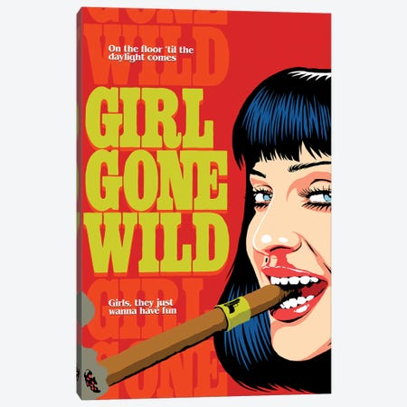 Gone Wild Canvas Print #BBY308} by Butcher Billy Canvas Art