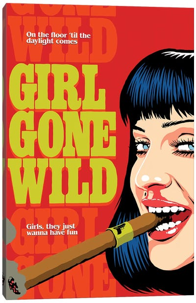 Gone Wild Canvas Art Print