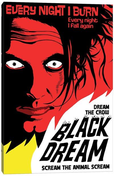 Black Dream Canvas Art Print