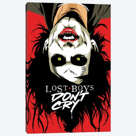Cry Boys Canvas Print #BBY315} by Butcher Billy Canvas Wall Art