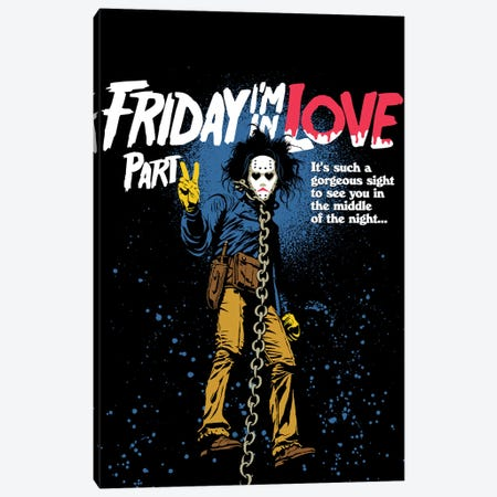 Friday Love Part 2 Canvas Print #BBY317} by Butcher Billy Canvas Art