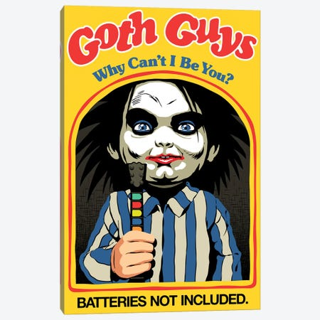 Goth Guys Canvas Print #BBY319} by Butcher Billy Canvas Print