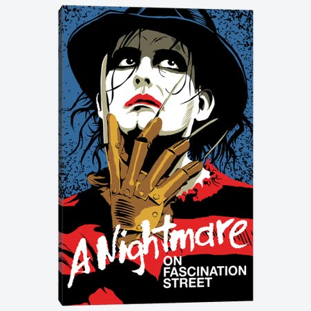The Nightmare Canvas Print #BBY320} by Butcher Billy Canvas Artwork
