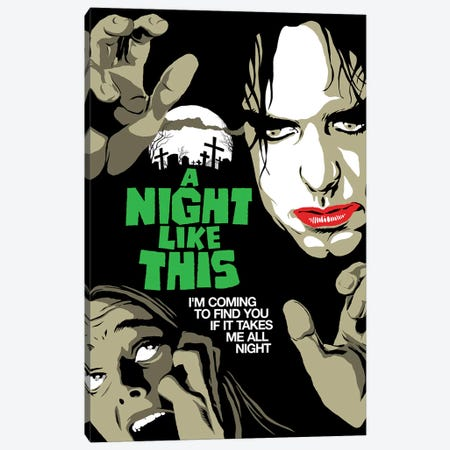 All Night Canvas Print #BBY321} by Butcher Billy Canvas Wall Art