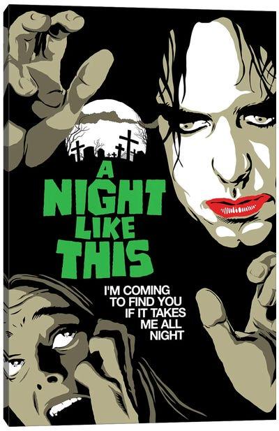 All Night Canvas Art Print