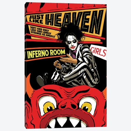 Just Like Heaven Canvas Print #BBY322} by Butcher Billy Canvas Artwork