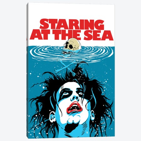 The Sea Canvas Print #BBY323} by Butcher Billy Canvas Artwork