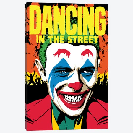 Dancing Canvas Print #BBY324} by Butcher Billy Canvas Art Print