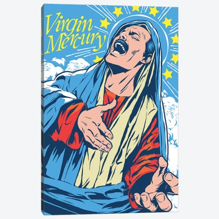 Virgin Mercury Canvas Print #BBY327} by Butcher Billy Canvas Print