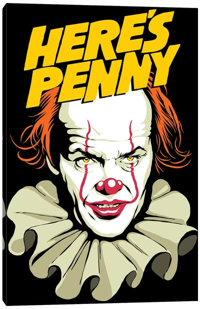 Here's Penny Canvas Art Print