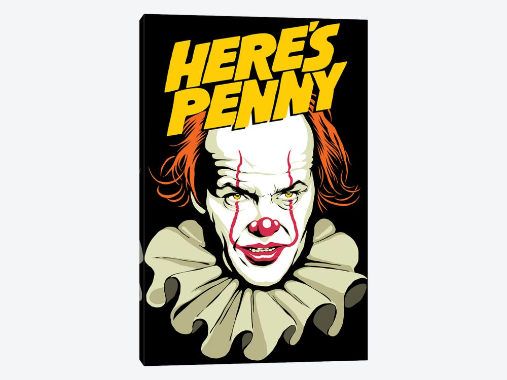 Here's Penny by Butcher Billy 1-piece Canvas Art