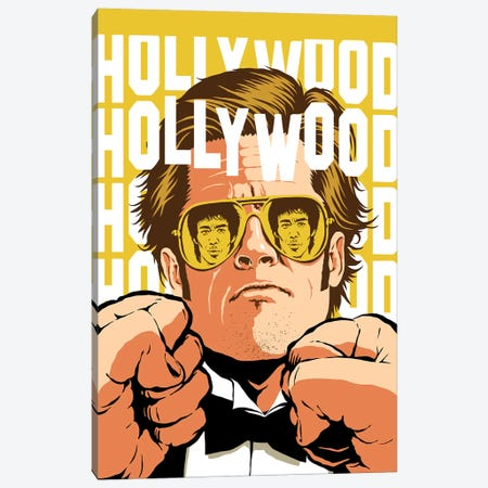 Hollywood Canvas Print #BBY332} by Butcher Billy Art Print