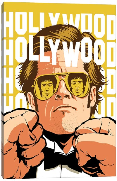 Hollywood Canvas Art Print