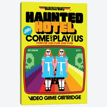 Haunted Hotel Canvas Print #BBY335} by Butcher Billy Canvas Art