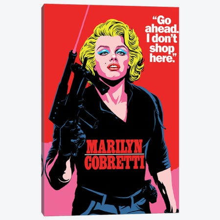 Killer Blond Canvas Print #BBY336} by Butcher Billy Canvas Artwork