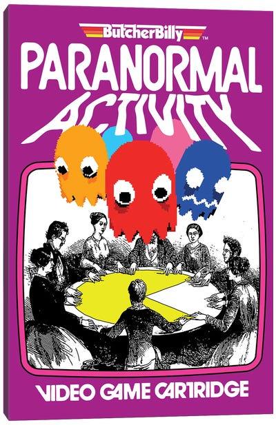 Paranormal Canvas Art Print