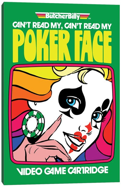 Poker Canvas Art Print