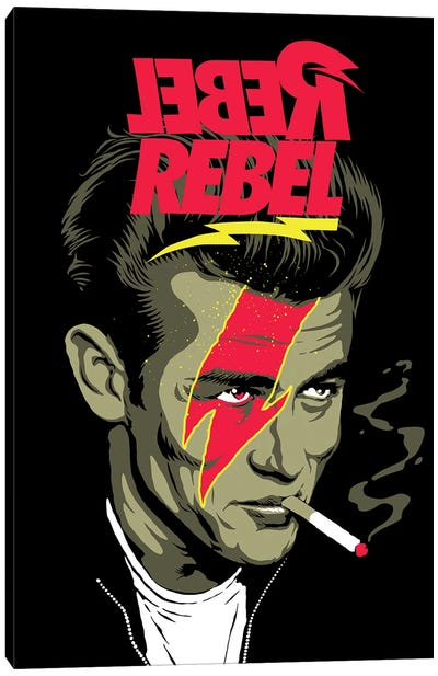 We Can Be Rebels Canvas Art Print