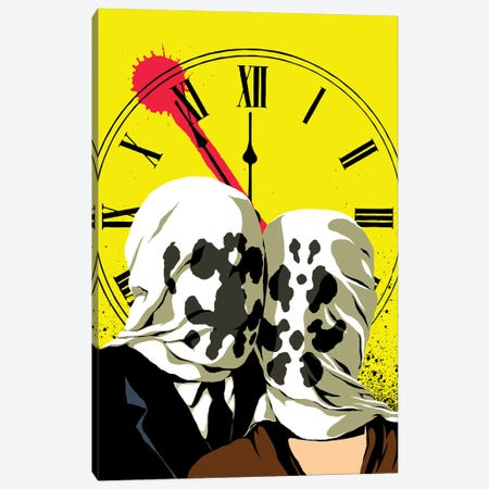 The Doomsday Lovers Canvas Print #BBY343} by Butcher Billy Canvas Wall Art