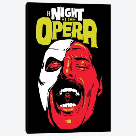 The Opera Canvas Print #BBY345} by Butcher Billy Canvas Art Print