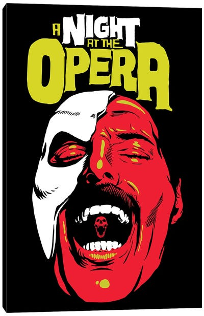 The Opera Canvas Art Print