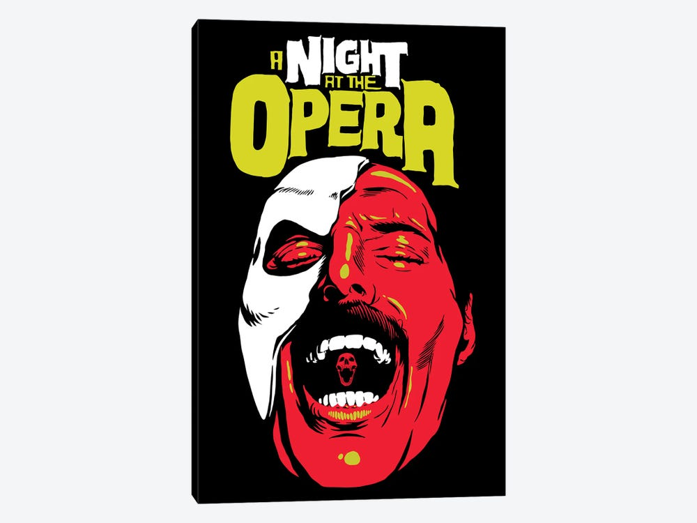 The Opera by Butcher Billy 1-piece Canvas Art Print
