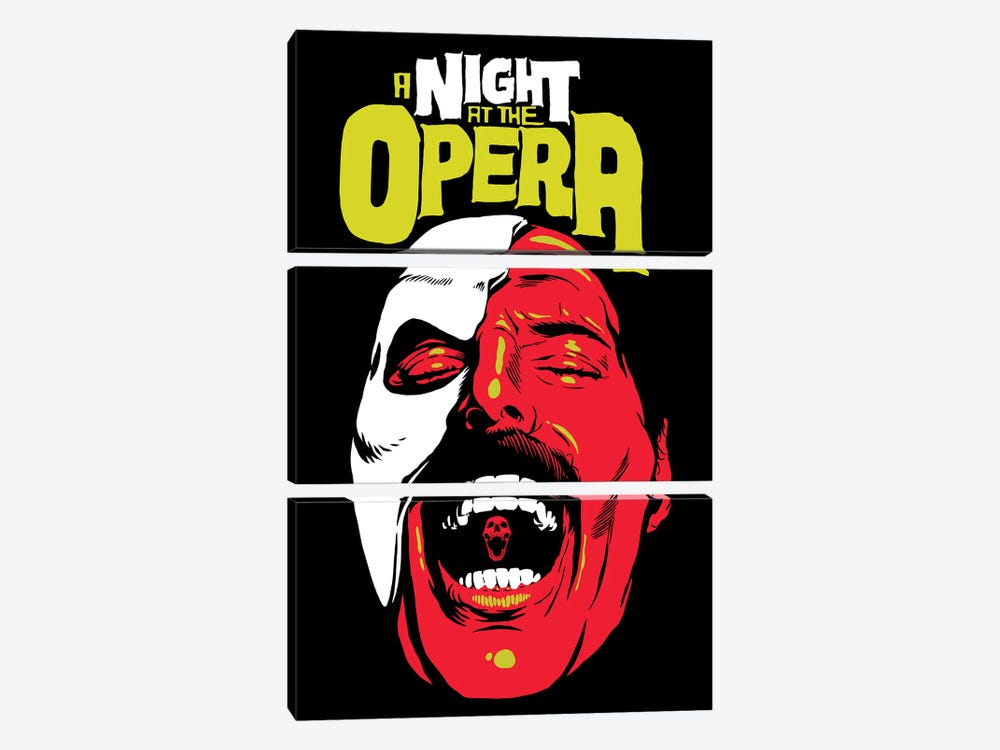 The Opera by Butcher Billy 3-piece Canvas Art Print