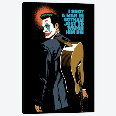 The Shot Canvas Print #BBY346} by Butcher Billy Canvas Print
