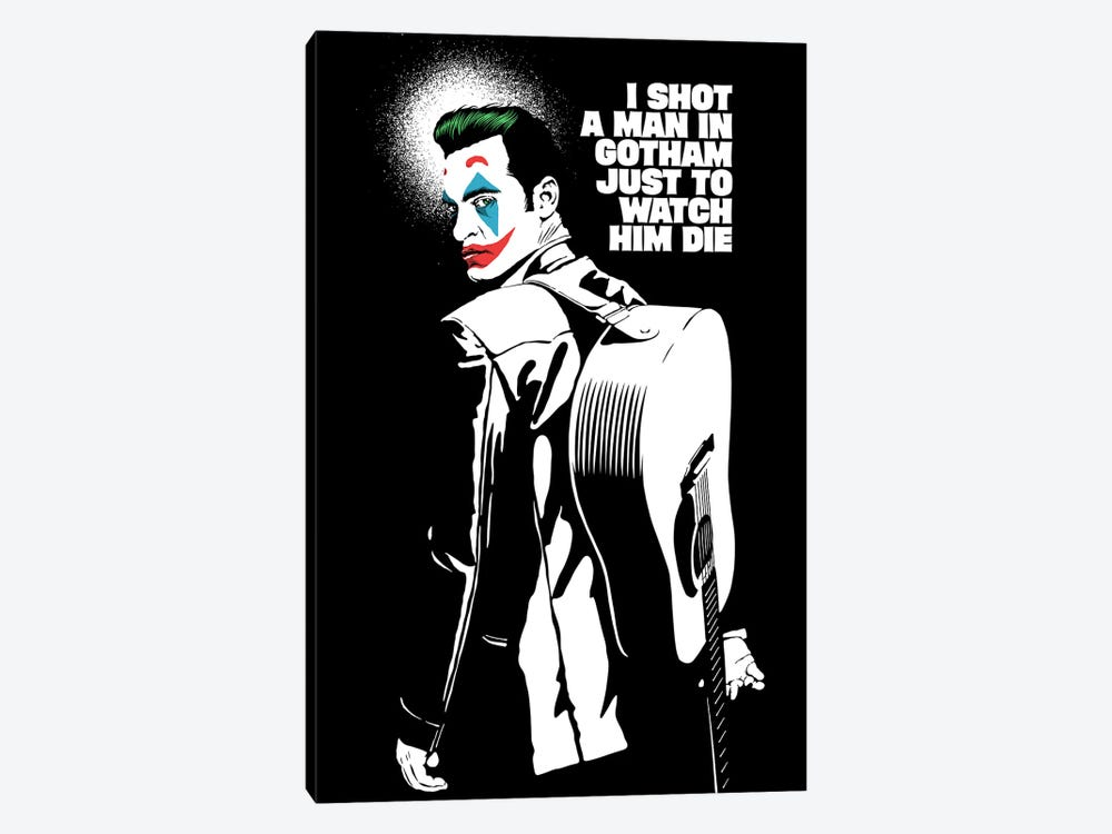 The Shot - Black And White by Butcher Billy 1-piece Art Print