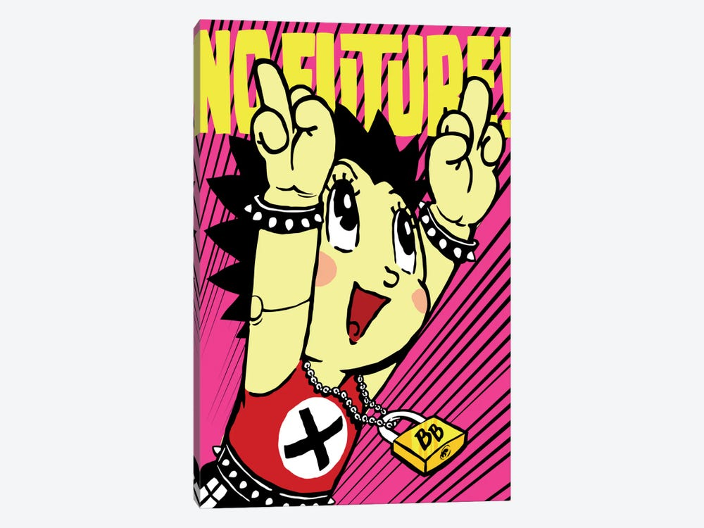No Future II by Butcher Billy 1-piece Canvas Wall Art