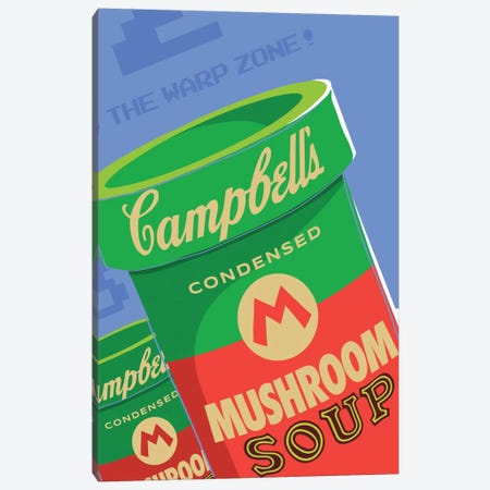 Welcome to the Warhol Zone Canvas Print #BBY40} by Butcher Billy Canvas Art Print