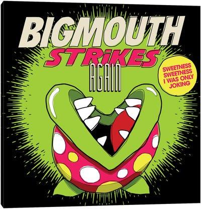 8-bit Smiths Project - Bigmouth Strikes Again Canvas Art Print