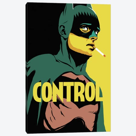 BatControl Canvas Print #BBY4} by Butcher Billy Art Print