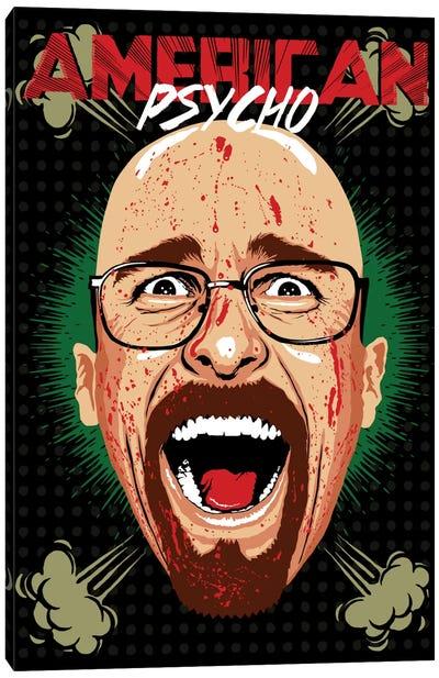 American Psycho - Breaking Bad Edition Canvas Print #BBY51